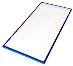700瓦高温海蓝色边框热射板
